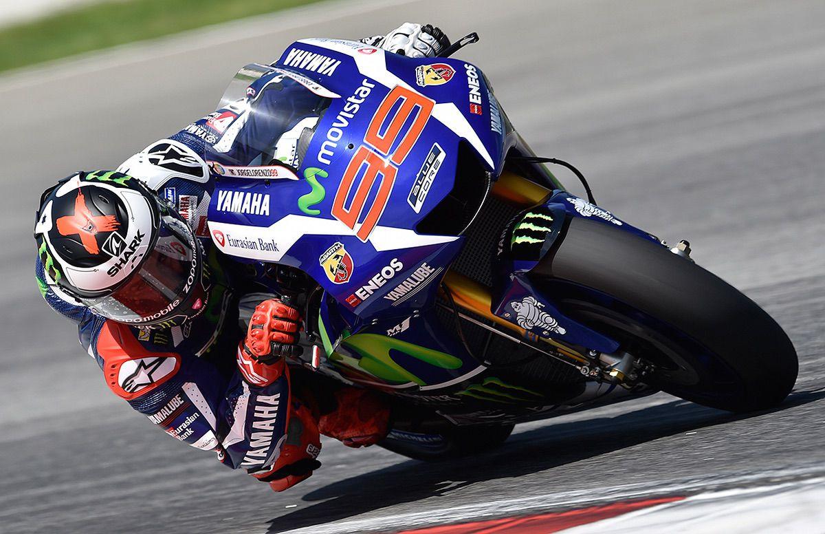 Jorge Lorenzo con Yamaha