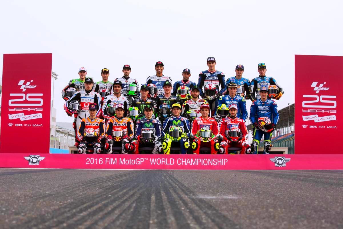 Los pilotos españoles en MotoGP 2017
