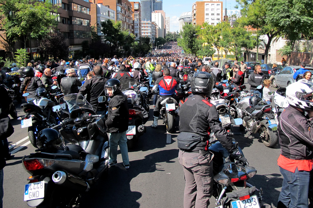 El 13 de mayo está convocada una manifestación en pro de la moto en Madrid