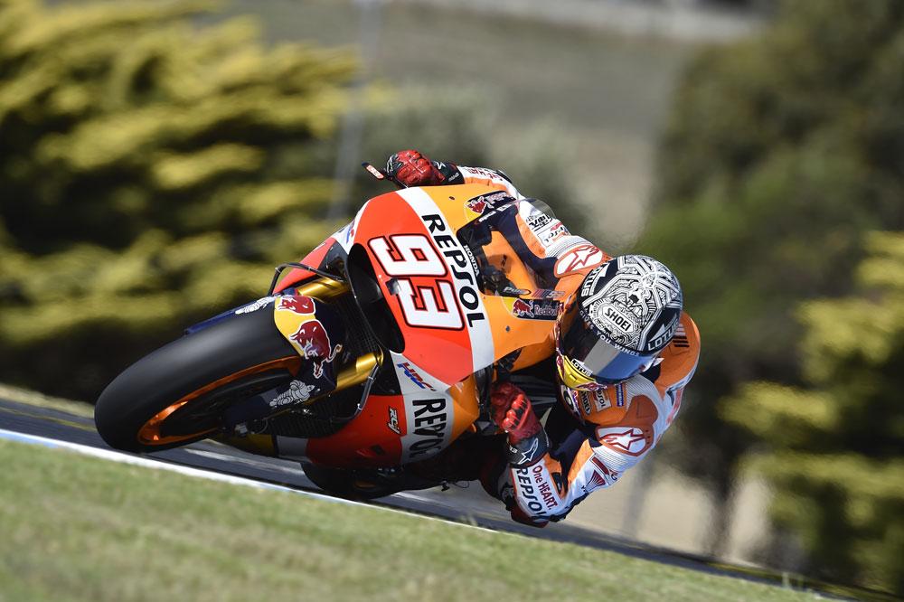 Marc Marquez, entrenamientos MotoGP Australia