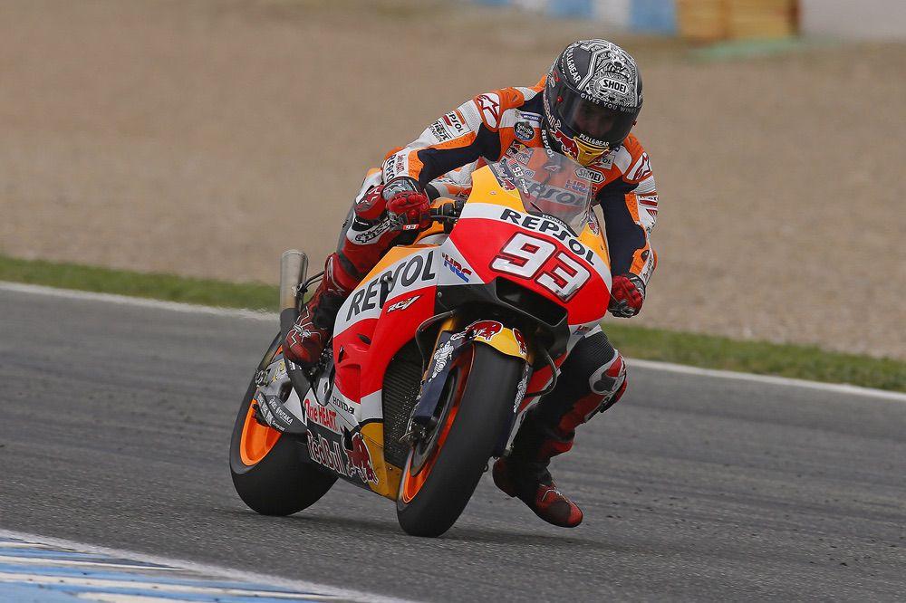 Marc Marquez, entrenamientos privados en Jerez