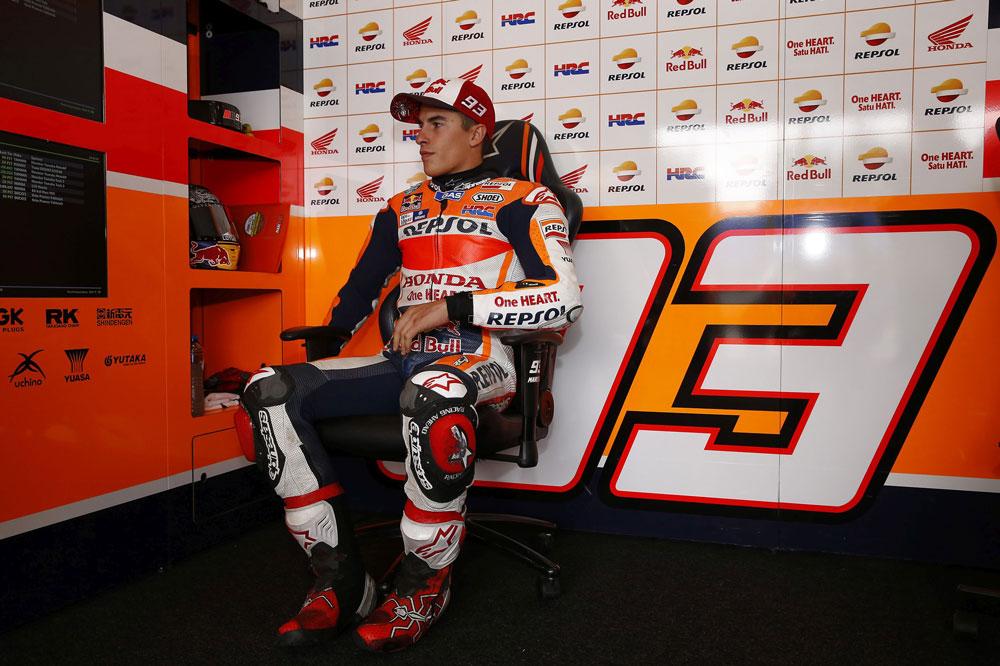 Marc Marquez fue tercero en los entrenamientos MotoGP en Brno
