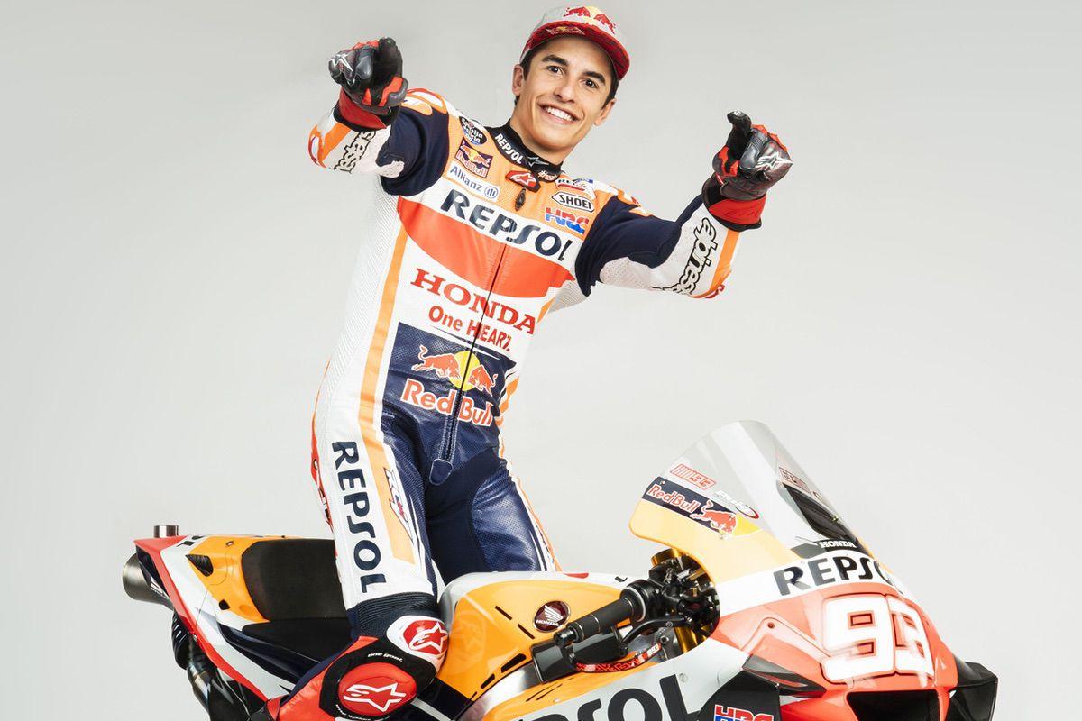 Marc Marquez y Honda, juntos hasta 2024