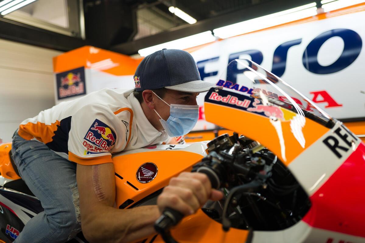 Encuesta: ¿Hizo bien Márquez regresando en Jerez?