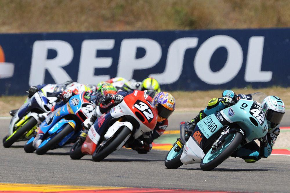Marcos Ramirez sigue lider en Moto3 en el FIM CEV Repsol