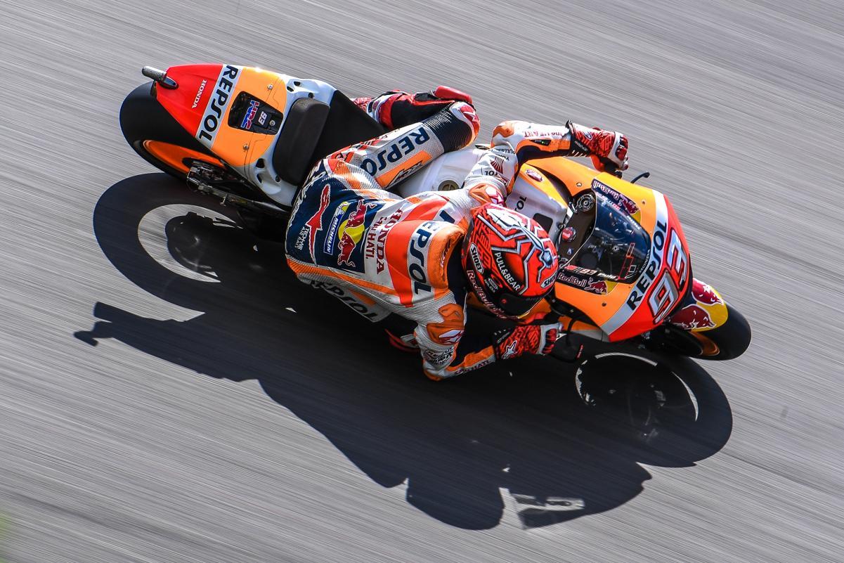 Marquez en Sachsenring