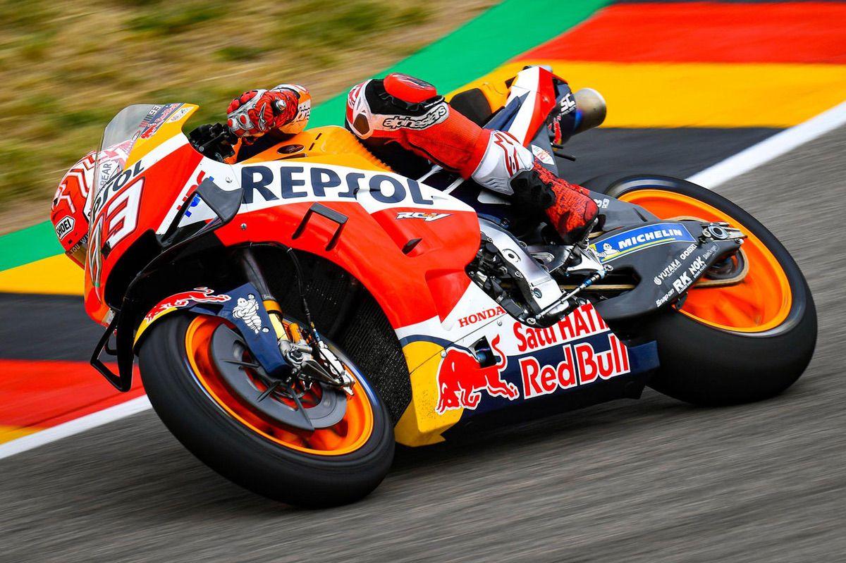 Marc Márquez ha comenzado el Gran Premio de Alemania imponiendo autoridad