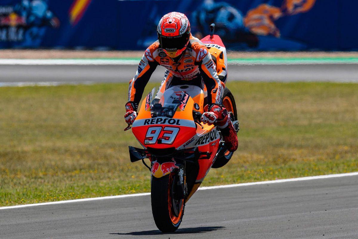 Marc Márquez recupera el liderato del Mundial de MotoGP tras su victoria en el GP de España