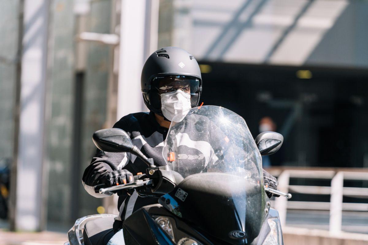 alergia en moto