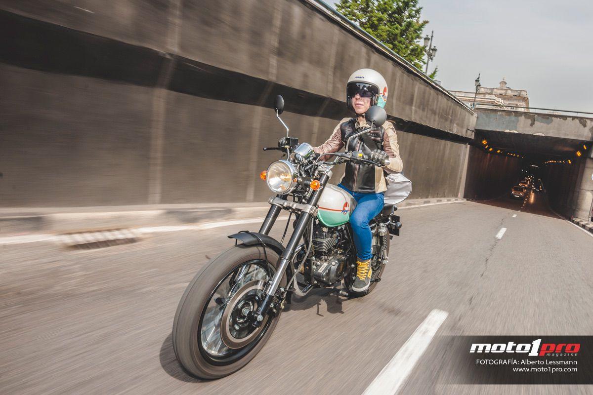 Carné de moto: recorrido interurbano