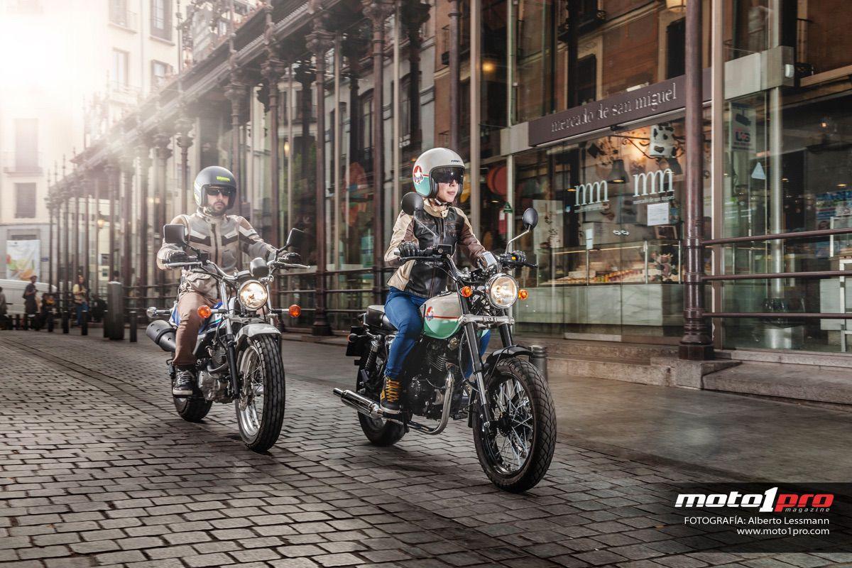 Comparativa: Mash Seventy Five 125 vs Suzuki Van Van 125