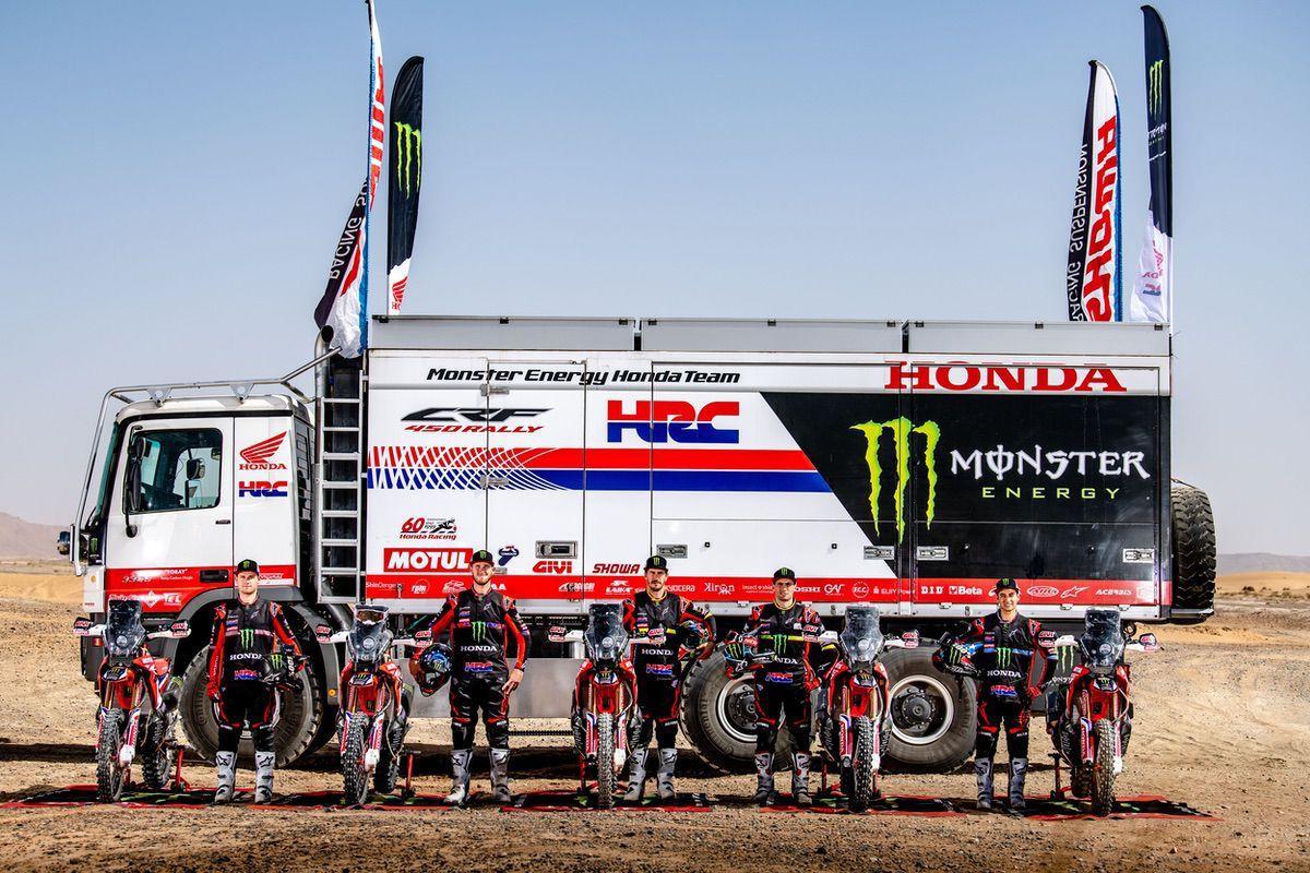El nuevo Monster Energy Honda Team 2020