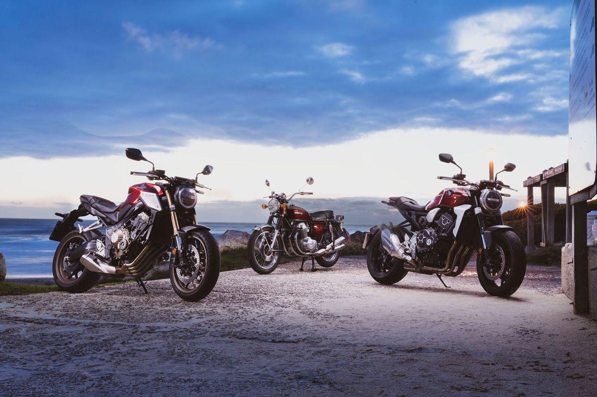Historia de la Honda CB con motor de cuatro cilíndros en línea