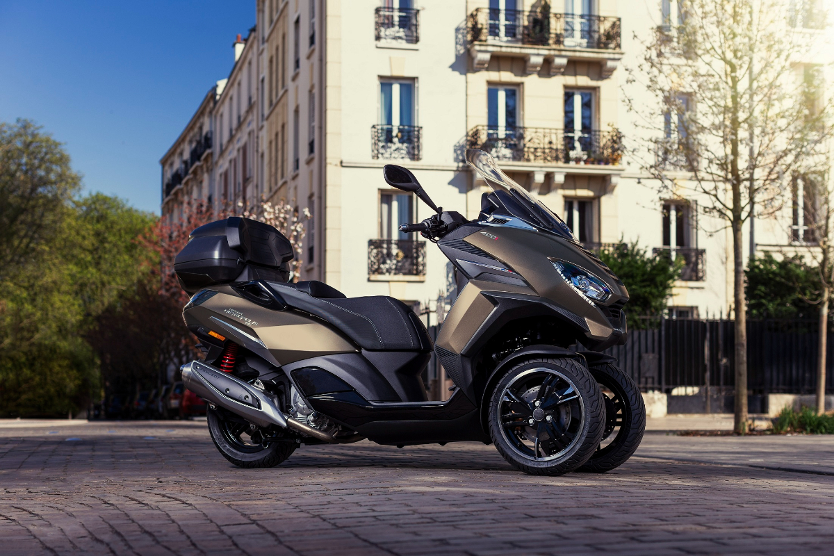 El Peugeot Metropolis 400 estrena nuevo color este otoño