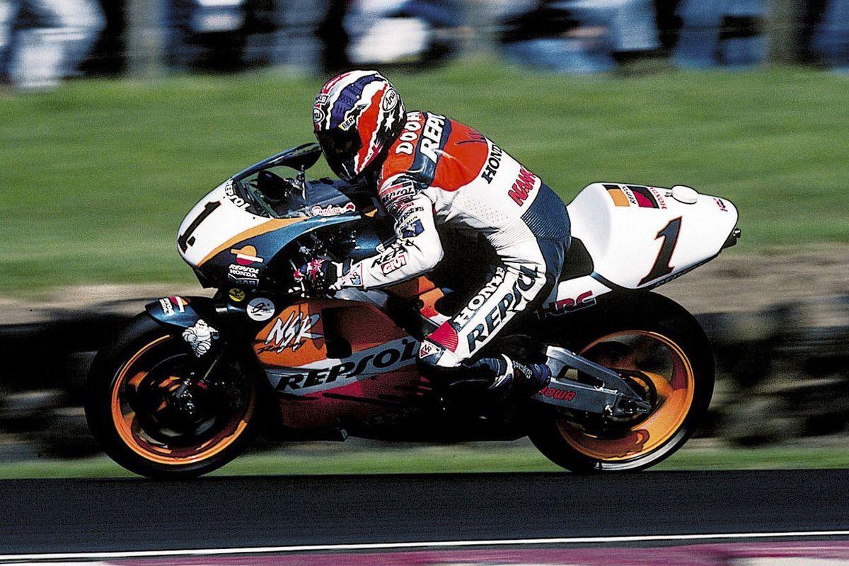 Mick Doohan con Honda en 1998