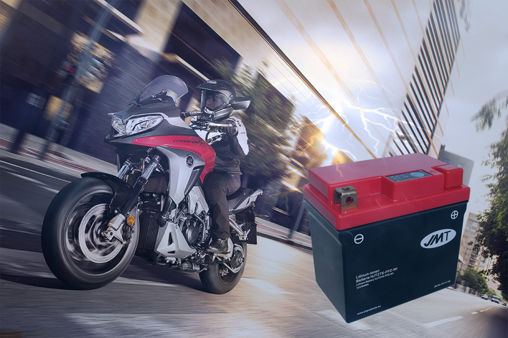 Bateria de litio para moto