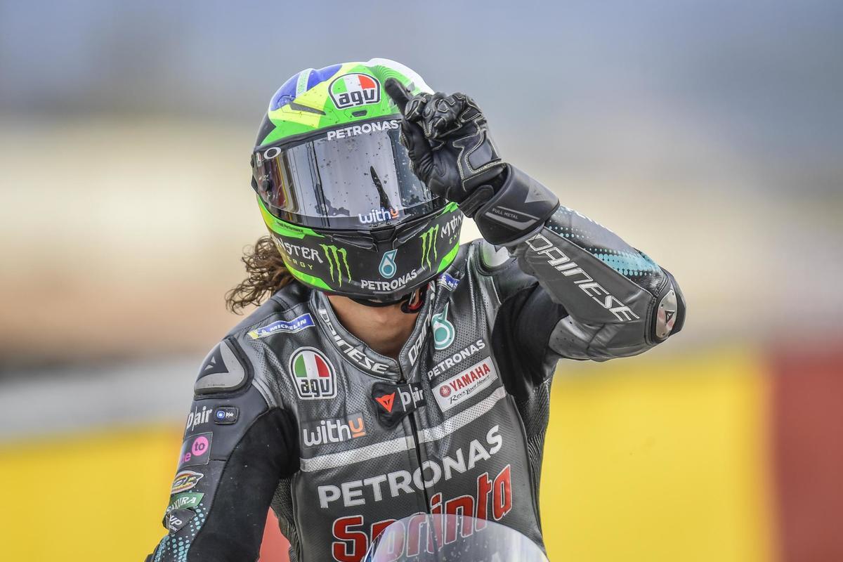 Morbidelli se une a la lucha por el título en Aragón