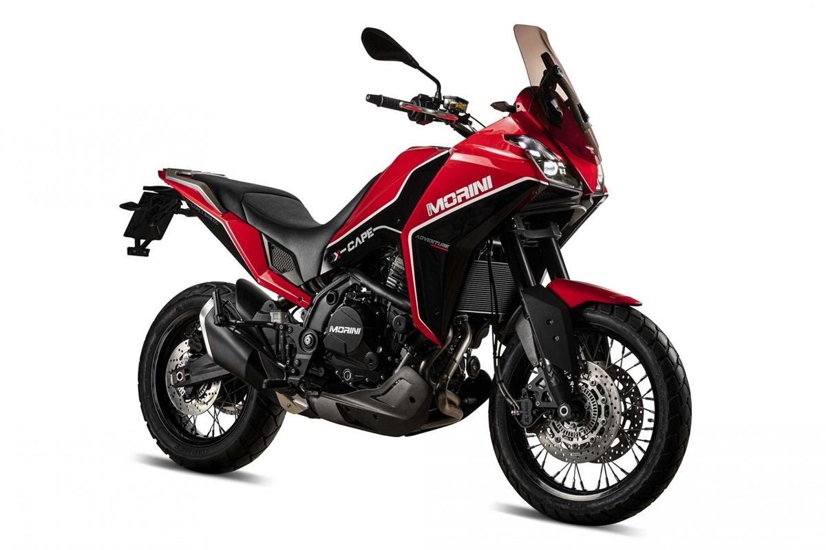 Nueva trail media: Moto Morini X-Cape 650