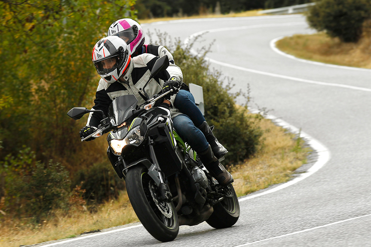 Medidas COVID-19 circulacion en moto
