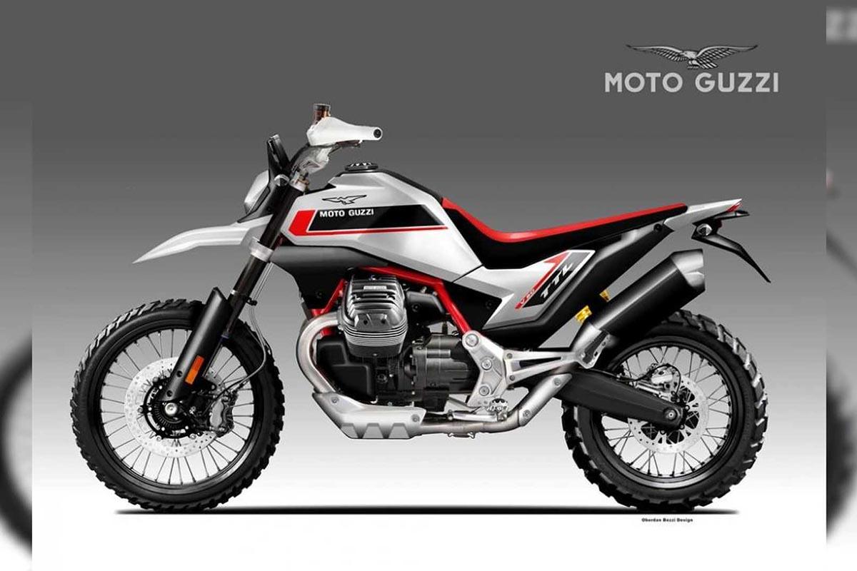 Moto Guzzi V90 TTL Concept