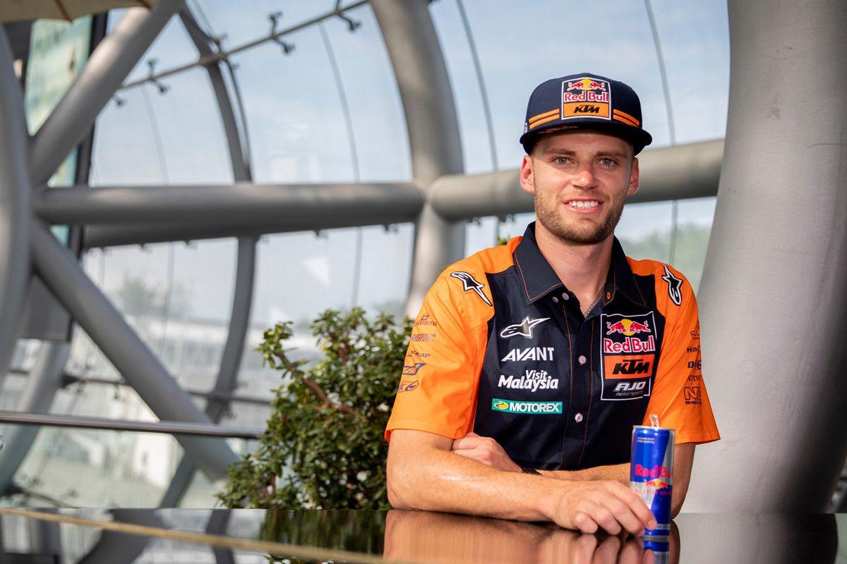 Brad Binder dominó los entrenamientos de Moto2 del GP de Austria