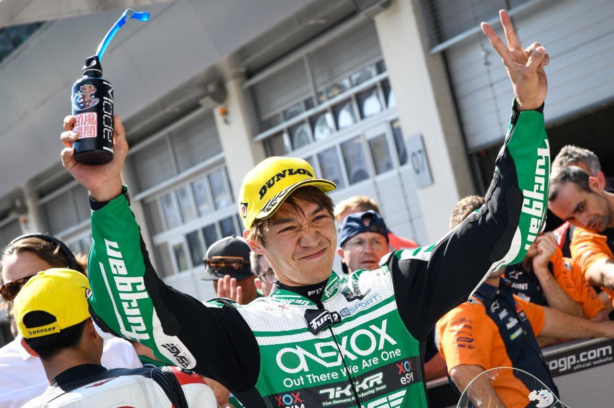Tetsuya Nagashima logra su primera pole en el Mundial de Moto2