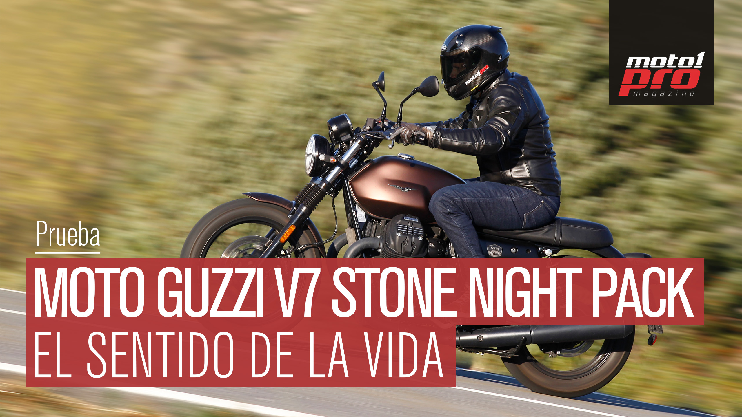 Vídeo | Prueba Moto Guzzi V7 Stone III Night Pack