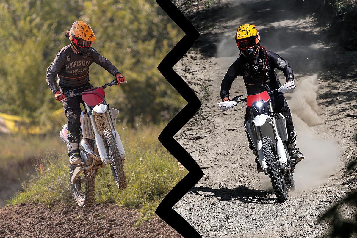 Palabra de experto. ¿Enduro o Motocross?