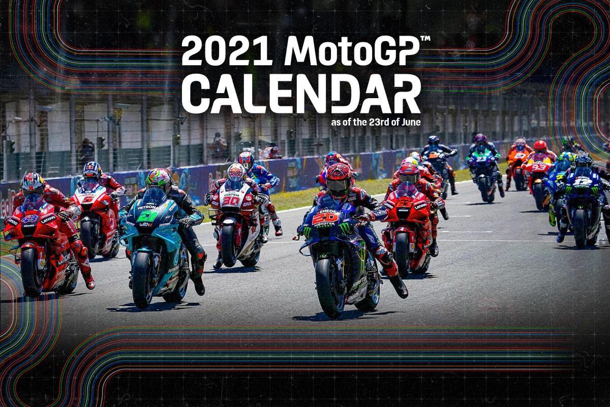 Nuevos cambios en el Calendario de MotoGP 2021