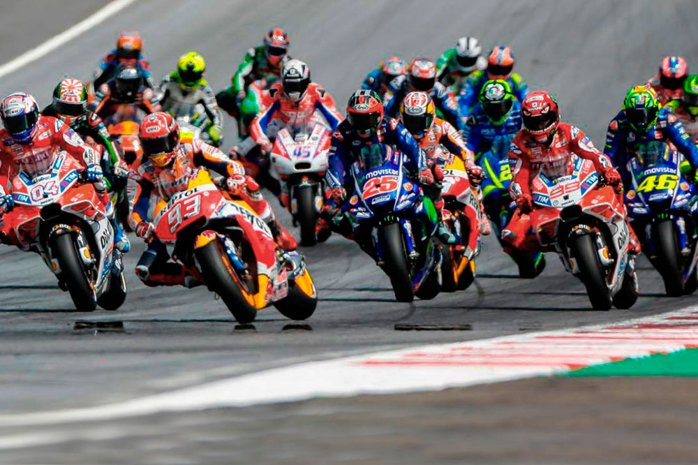 Pilotos y equipos MotoGP 2018