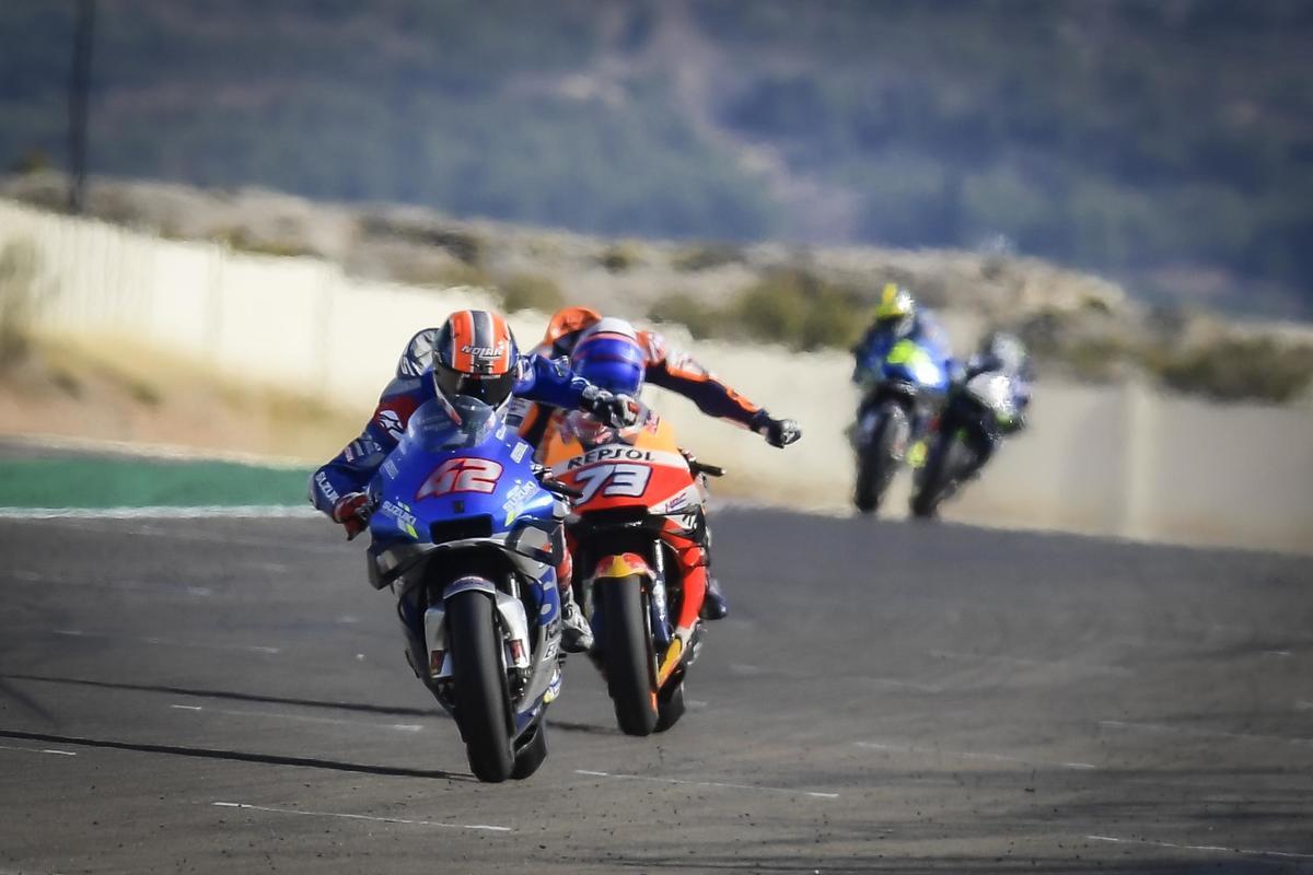 MotoGP: Reválida gélida en Teruel