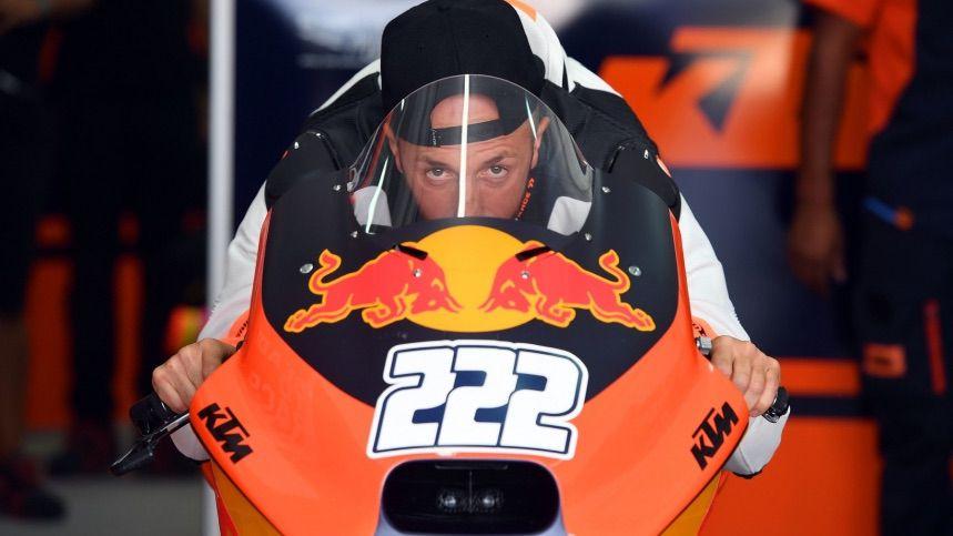 Tony Cairoli KTM MotoGP