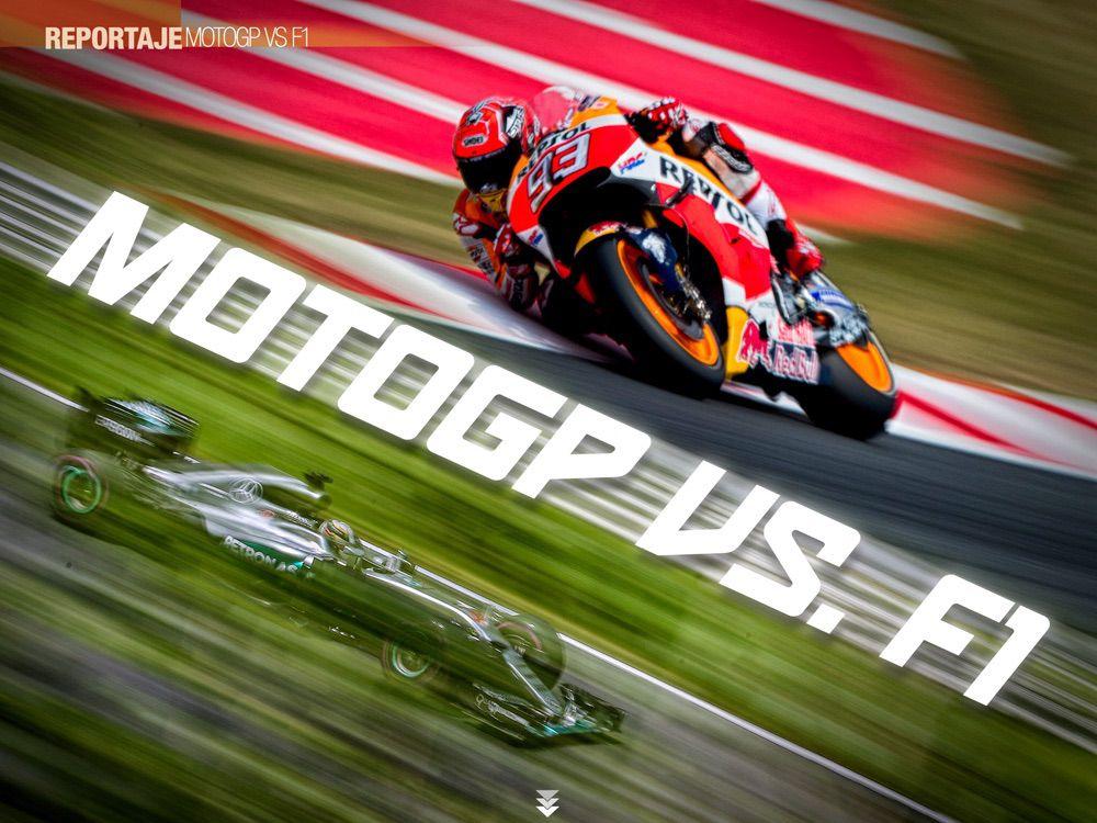 MotoGP vs Formula 1