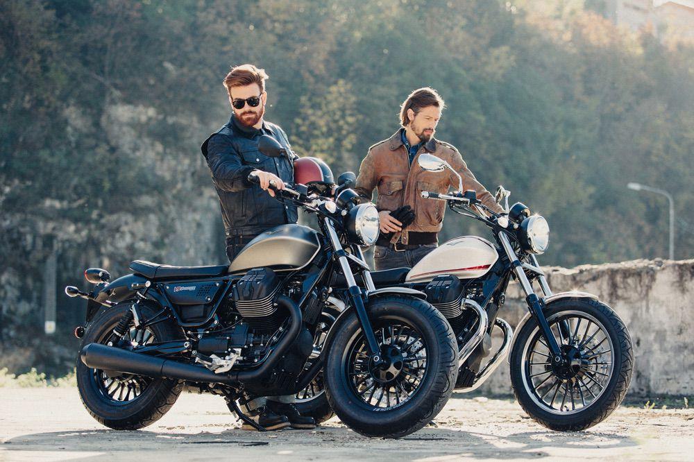 Moto Guzzi Roamer y Bobber