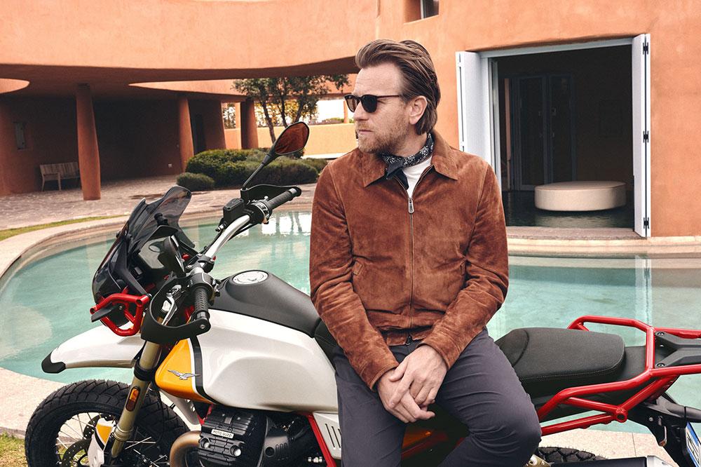 MotoGuzzi & Ewan McGregor