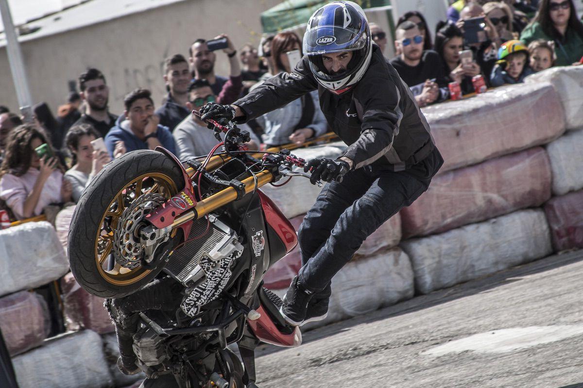 Concurso de Stunts en Motonavo