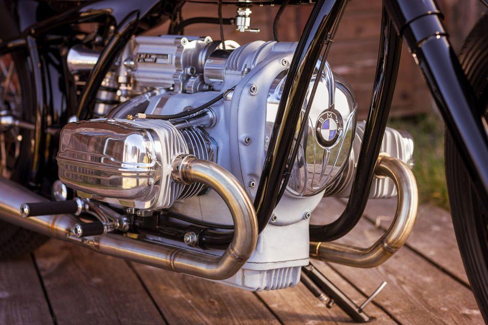 Motor de la BMW R5 Hommage