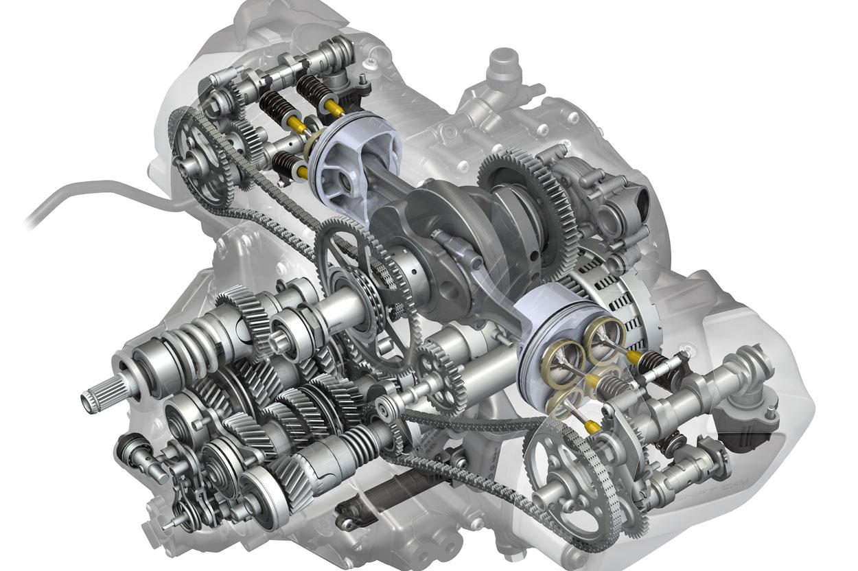 Motor Boxer de BMW con distribución variable