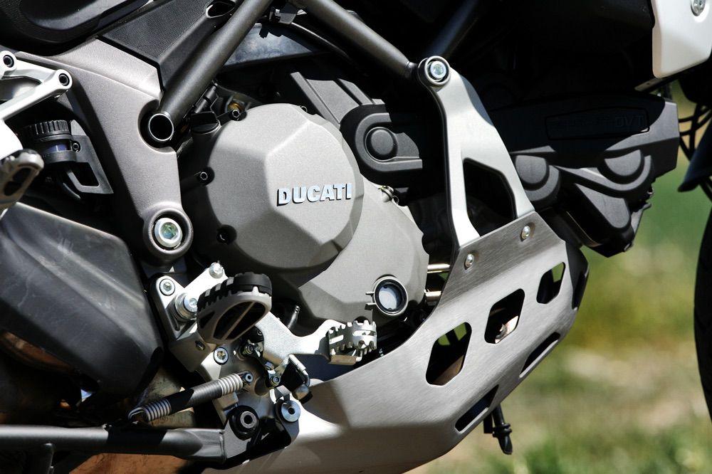 Motor de la Ducati Multistrada Enduro