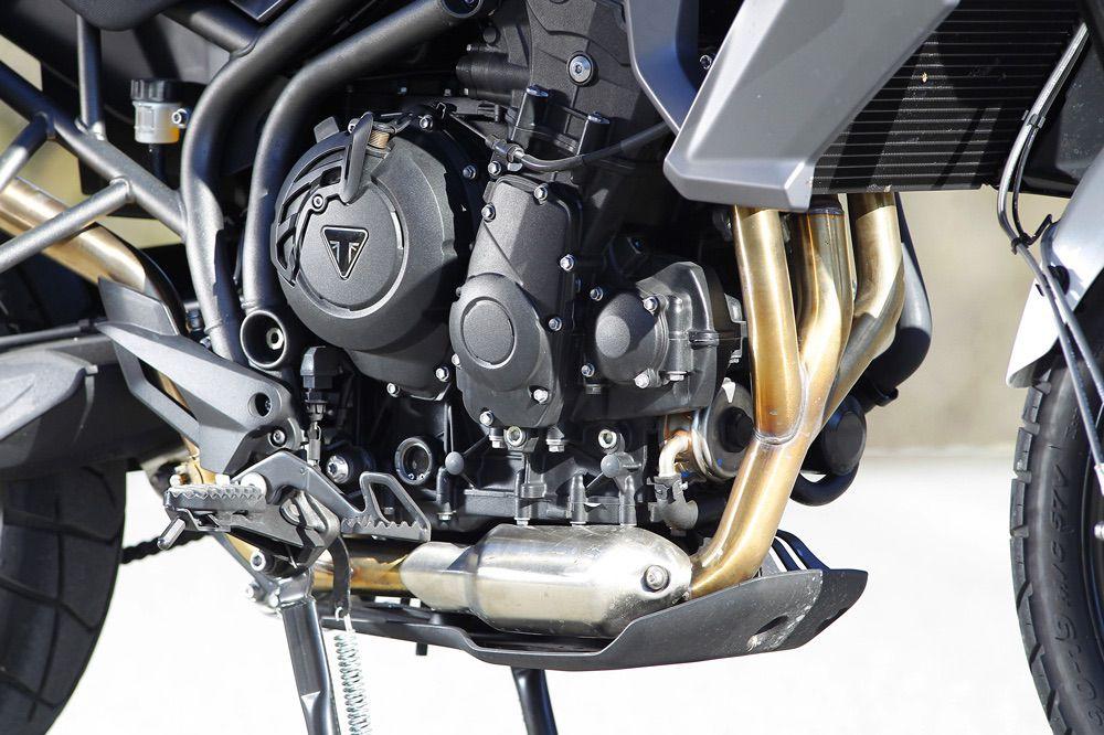 Motor de la Triumph Tiger 800 XRX