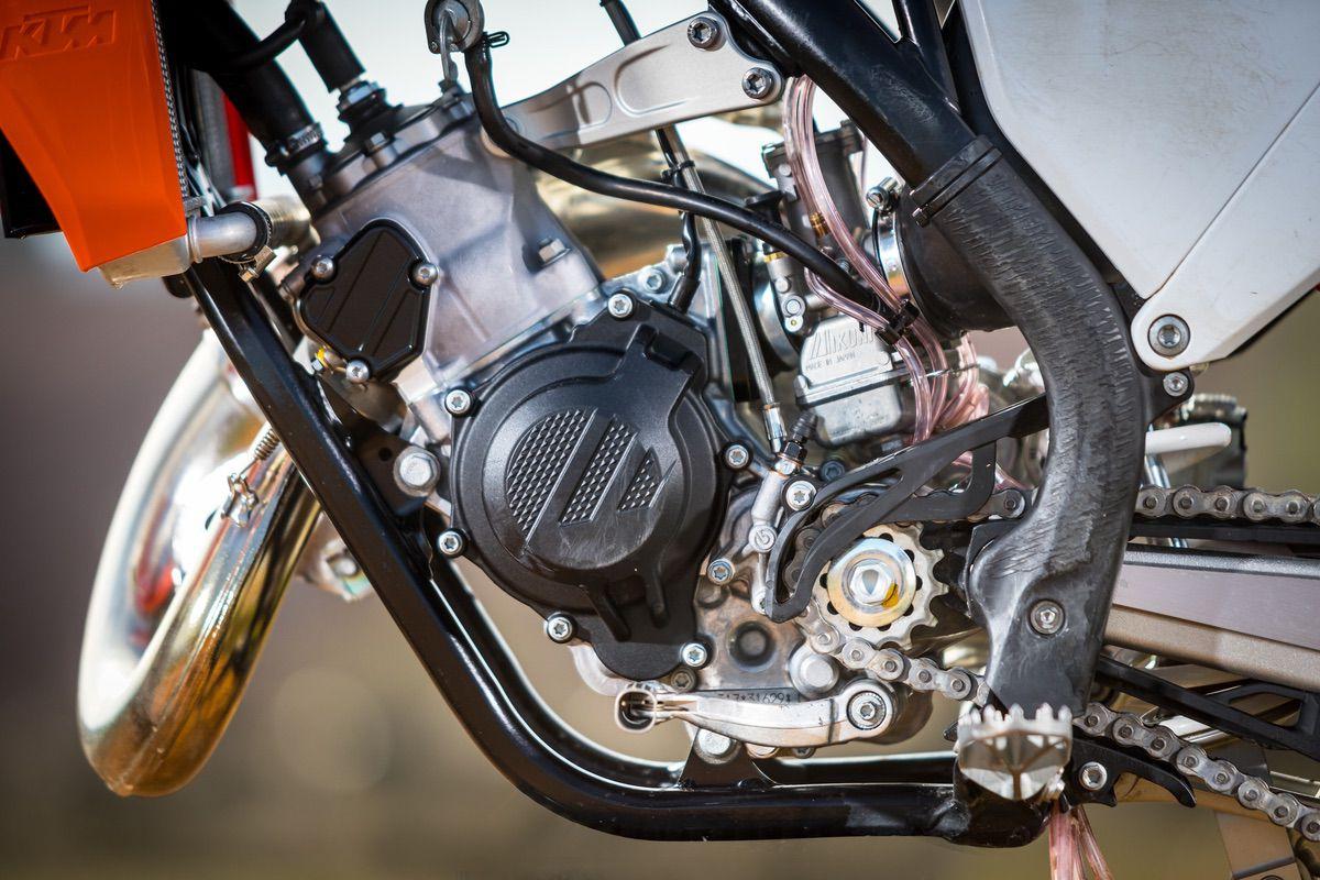 Prueba KTM 150 SX 2021 - Única en su especie