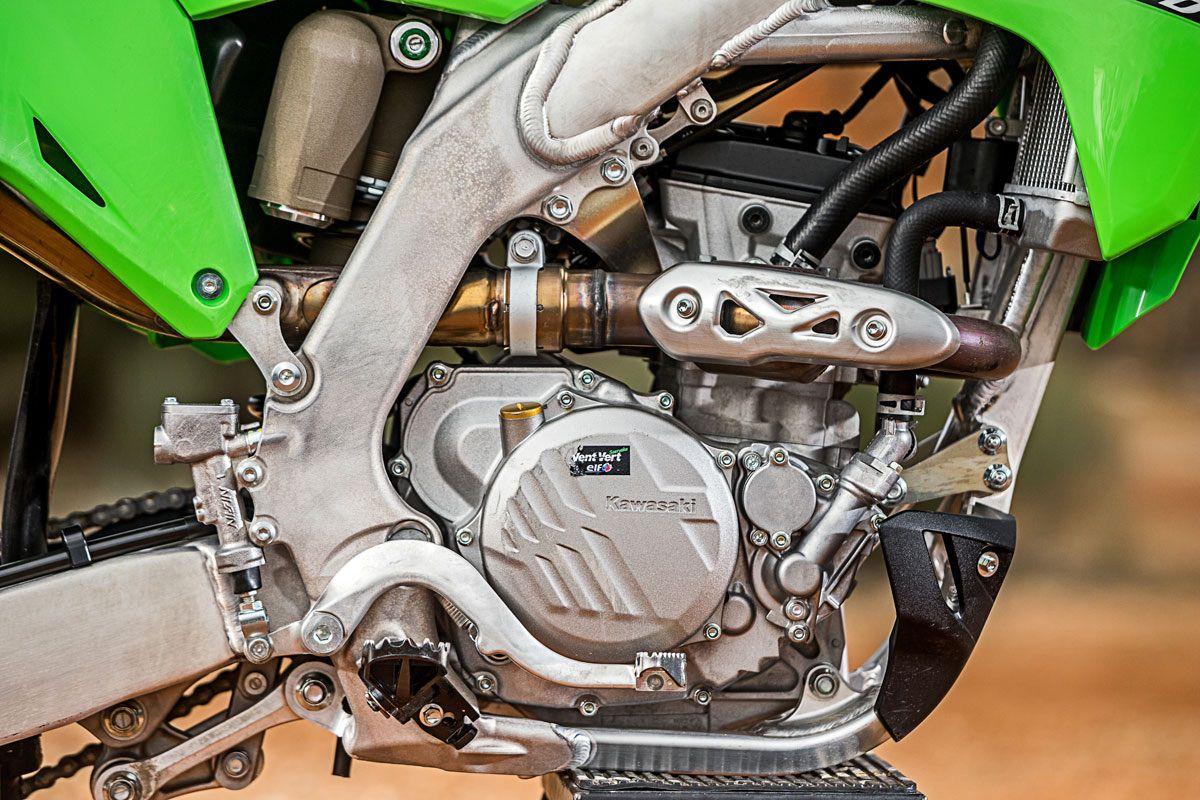 Prueba Kawasaki KX 250: Dando la talla