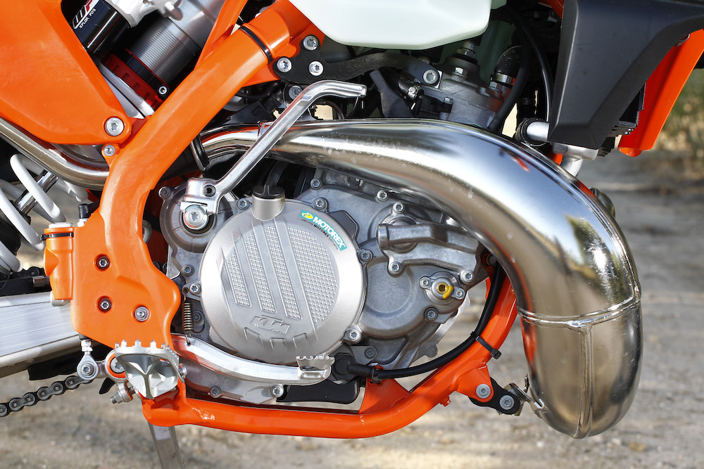 KTM EXC 250 TPI  '18 motor