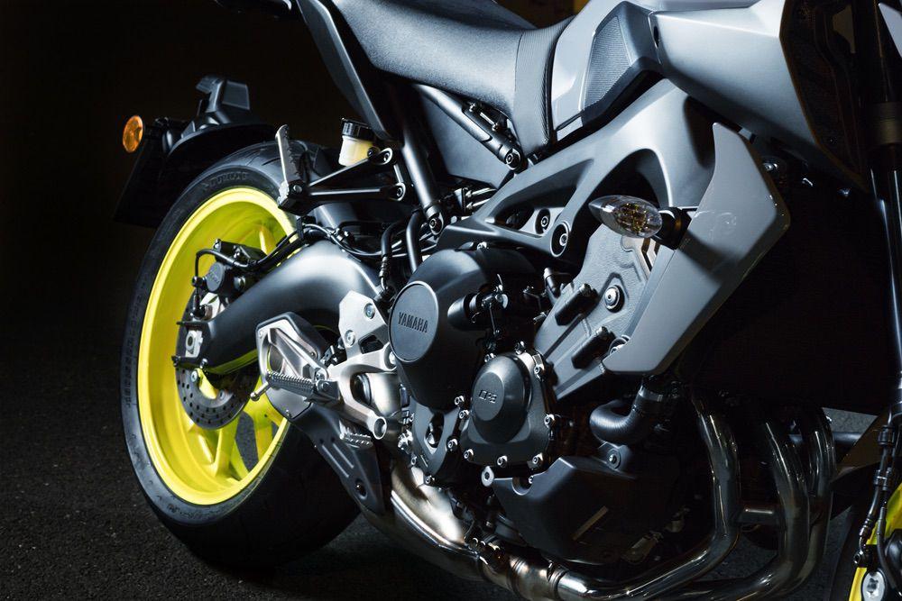 Motor Yamaha MT-09 2017