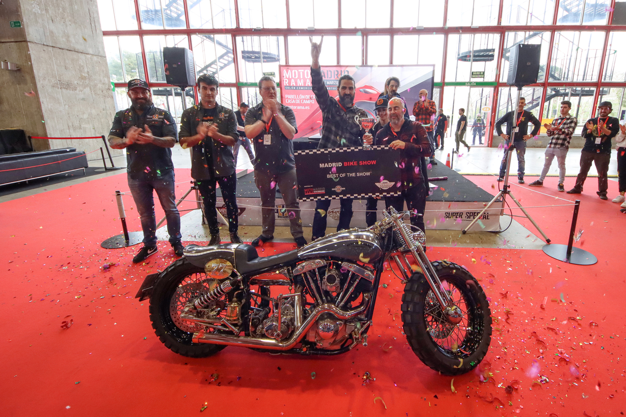 Concurso Madrid Bike Show