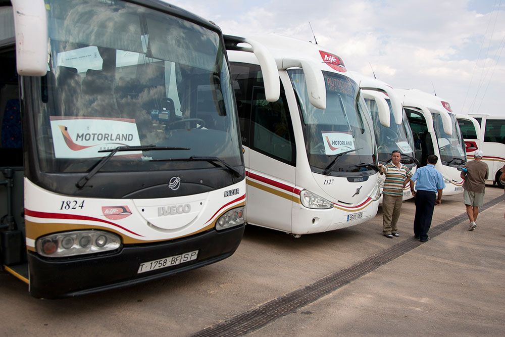 MotorLand autobuses