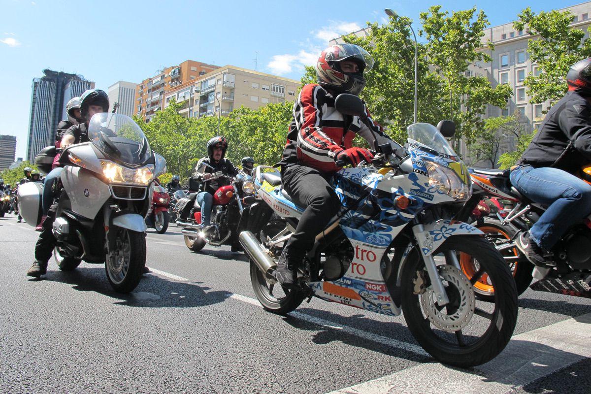 Las motos anteriores a 2003 no podrán circular por el centro de Madrid