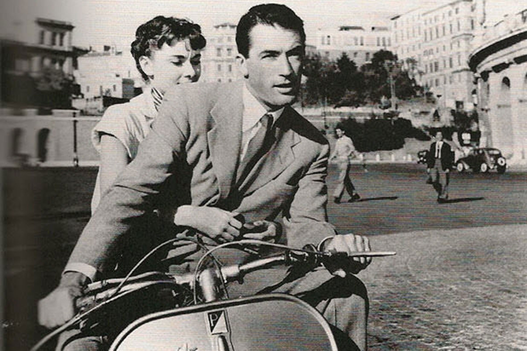 Top five ´motos de cine´ Vacaciones en Roma