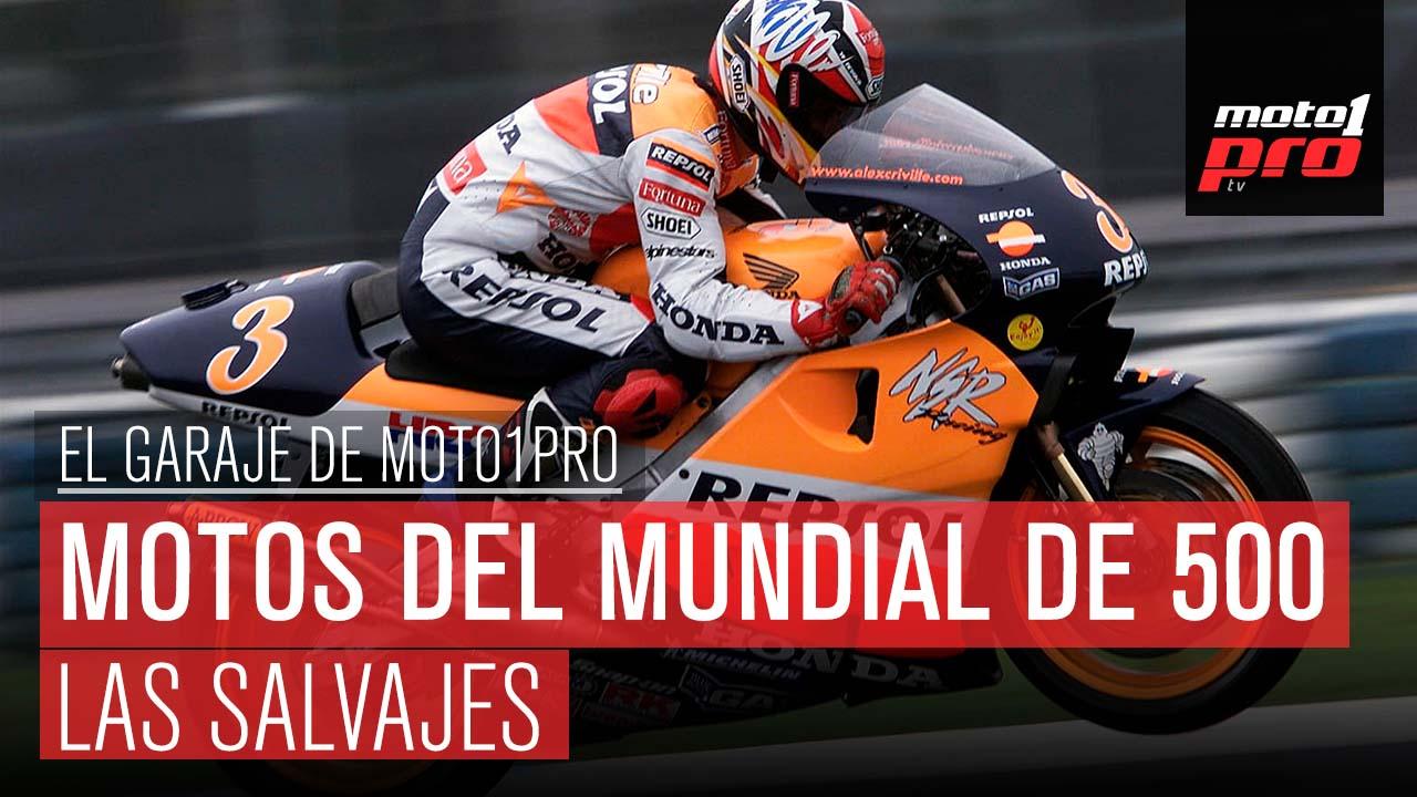 Las motos del Mundial de 500