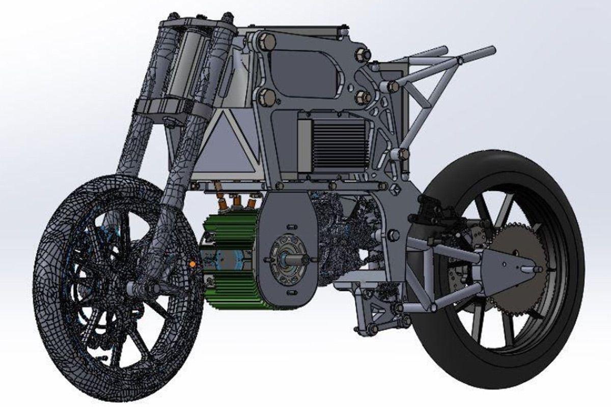 MotoSpirit: nuevo chasis para el prototipo 2021